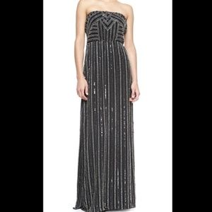 cc5f4977d0 Parker Strapless Beaded Gown SzS NWOT